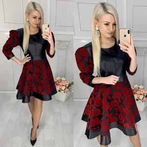 Платье короткое нарядное элегантное Х1577