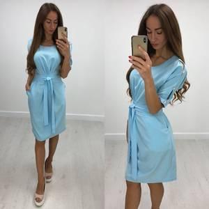Платье короткое нарядное современное Ф1379