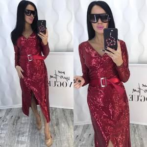 Платье короткое вечернее элегантное Ф5365