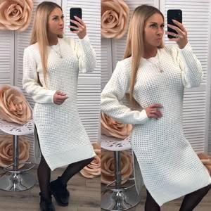 Платье длинное белое Ф2984