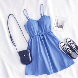 Платье короткое летнее А37745