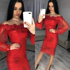 Платье короткое вечернее современное Х3344
