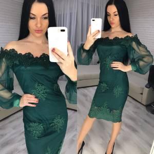 Платье короткое вечернее современное Х3345