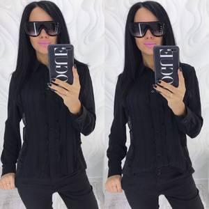 Рубашка с длинным рукавом прозрачная Х4082