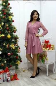 Платье короткое нарядное современное Ф9714