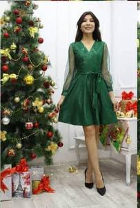 Платье короткое нарядное современное Ф9715