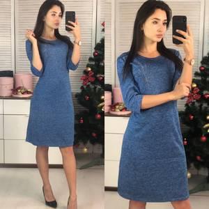 Платье короткое нарядное повседневное Ф9722