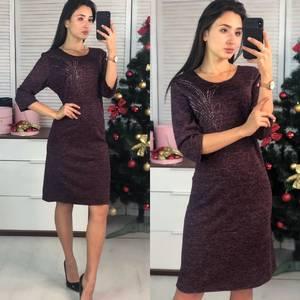 Платье короткое нарядное повседневное Ф9723