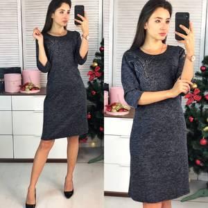 Платье короткое нарядное повседневное Ф9727