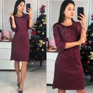 Платье короткое нарядное повседневное Ф9728