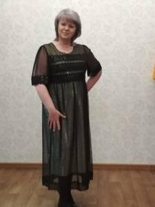 Платье длинное нарядное Х7089