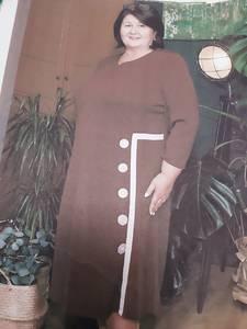 Платье длинное нарядное Х7097