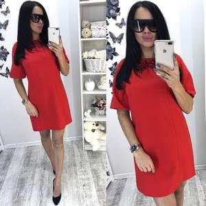 Платье короткое летнее У1563