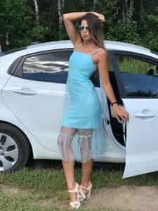 Платье короткое нарядное летнее У8868