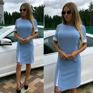 Платье короткое элегантное летнее У7446