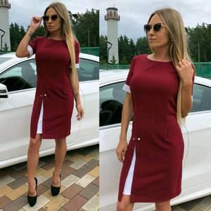 Платье короткое классическое летнее У7449