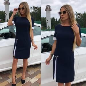 Платье короткое элегантное летнее У7450
