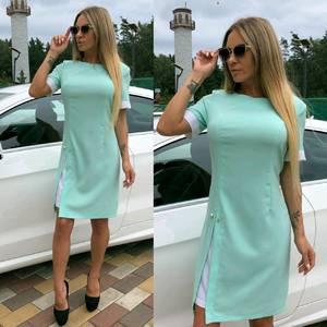 Платье короткое элегантное летнее У7451