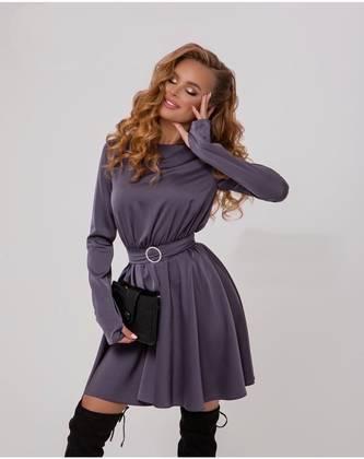 Платье короткое современное А23832