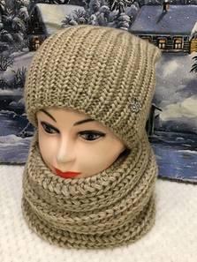 Шапка и шарф Хомут П1796