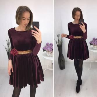 Платье короткое повседневное нарядное Р2282