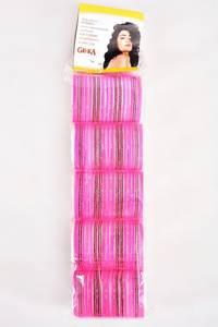 Бигуди пластмассовые с липучкой 5шт. Е6752