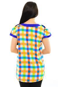Блуза летняя нарядная М8403