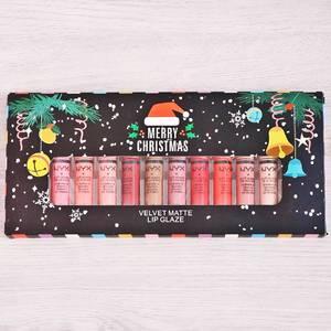 Набор жидких губных помад (12 шт.) Р7853