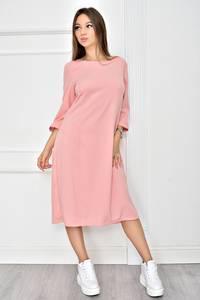 Платье короткое однотонное классическое У0541