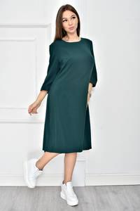 Платье короткое однотонное классическое У0542