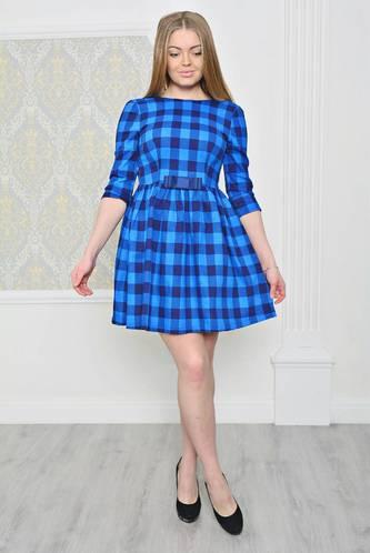 Платье короткое коктейльное нарядное Р2049