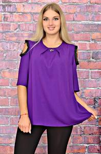 Блуза офисная летняя Т5823