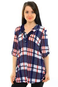 Блуза офисная нарядная М8406