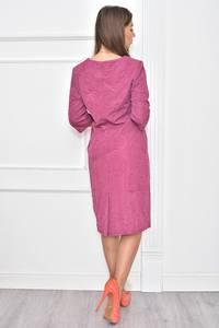 Платье длинное нарядное деловое Т7379