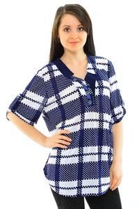 Блуза офисная нарядная М8407
