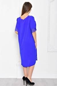 Платье длинное синее вечернее Т1915