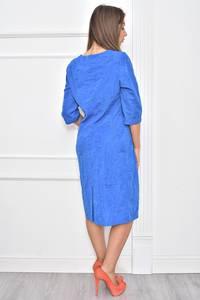 Платье длинное нарядное деловое Т7380