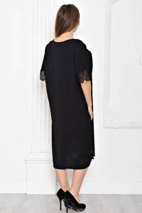 Платье длинное черное вечернее Т1916