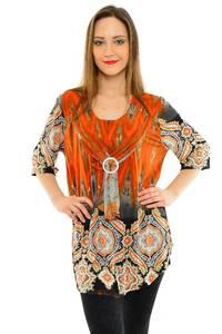 Блуза летняя праздничная М6749