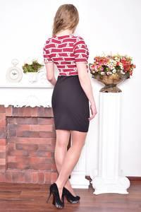 Платье короткое повседневное облегающее Р8947