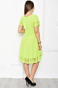 Платье короткое нарядное однотонное Т1776