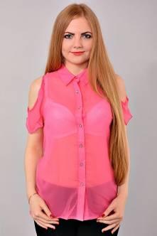 Блуза В-1016-3(розов.)