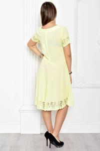Платье короткое нарядное однотонное Т1778