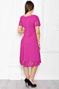 Платье короткое нарядное однотонное Т1780