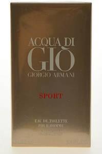 Туалетная вода Giorgio Armani Acqua Di Gio Sport Pour Homme М7607