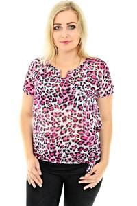 Блуза летняя с коротким рукавом П0439