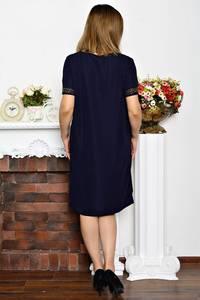 Платье длинное деловое однотонное Р6354