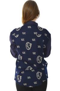 Рубашка синяя с длинным рукавом Н5991