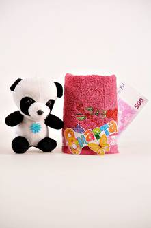 Подарочное полотенце И0828