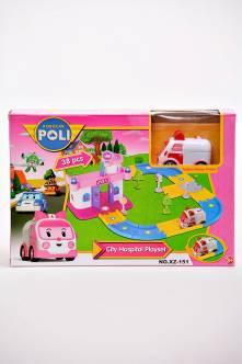 Игровой набор Robocar Poli City Police Е2391